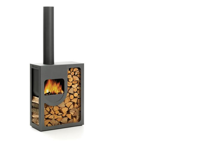 Outdoor fireplace.  Spot | Harrie Leenders Haardkachels