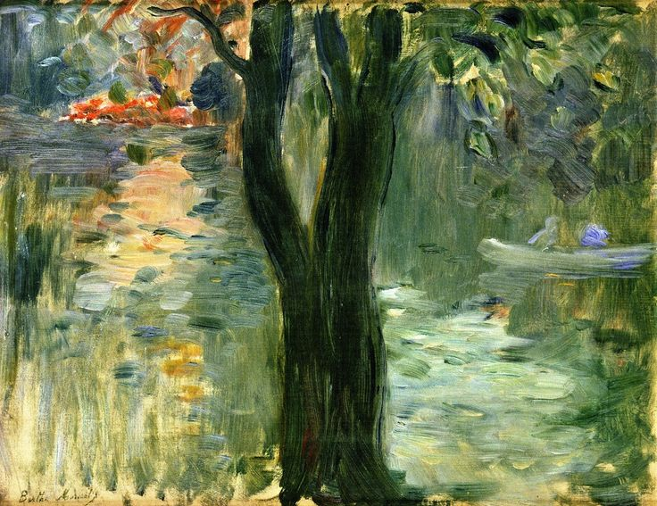 17 Best images about Berthe Morisot on Pinterest  Oil on  ~ Fille Bois De Boulogne