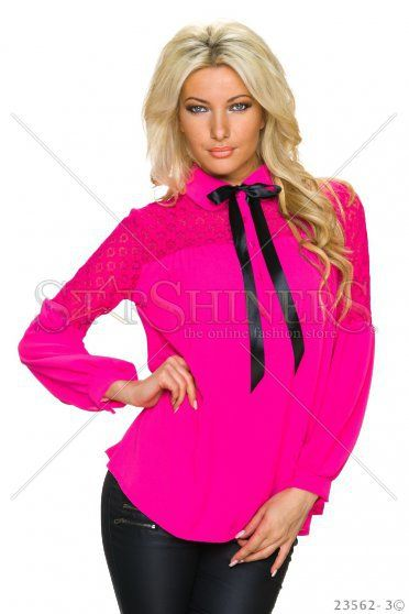 Exemplary Pink Blouse