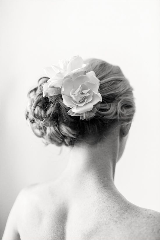 wedding hair done by The Parlor