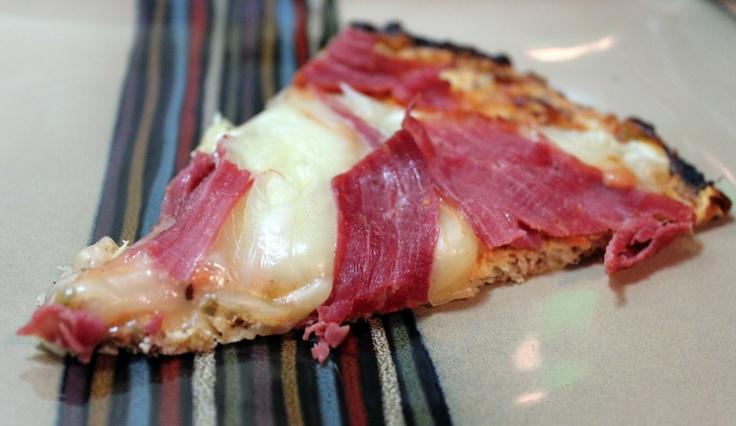 Paleo Reuben Pizza