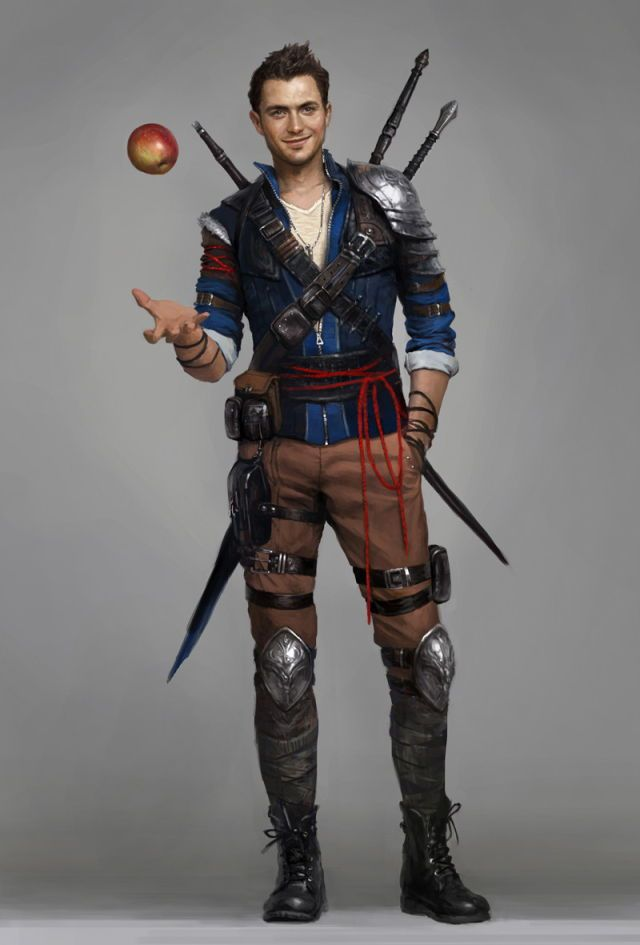m Bard or Rogue Trickster