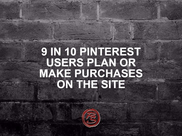 What should your business objectives be when you're on Pinterest? Conversions. 9 in 10 Pinterest users plan or make purchases on the site. If you have products for sale – flaunt them.    #RockSocial #RockSM #Pinterest #PinterestSales #OnlineAdvertising #OnlineStore #SMM