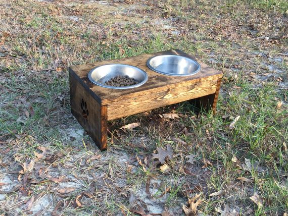 10 inch Elevated Dog Feeder  Raised Dog Feeder  by Lakesidehobbies