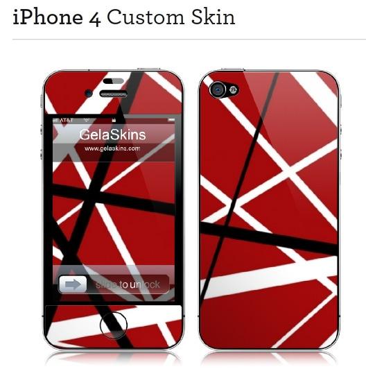 Van Halen Stripes iPhone Skin | Van Halen Stripes EVH ...