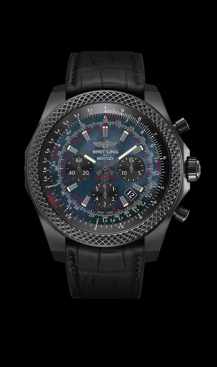 Parfait emblème de l'esprit Breitling for Bentley, le chronographe Bentley B06 allie une esthétique de grand style au Calibre manufacture B06, entièrement conçu et fabriqué dans les ateliers de Breitl...