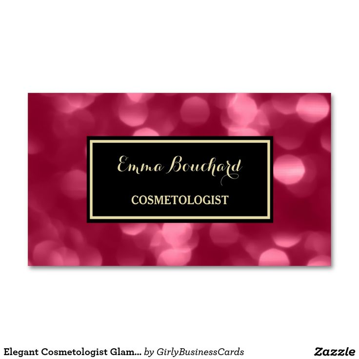591 best Girly Business Cards images on Pinterest