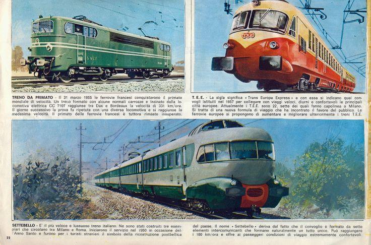 Corrierino e Giornalino: I treni