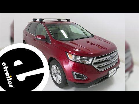 26 Inno Roof Rack Review 2016 Ford Edge Etrailer Com
