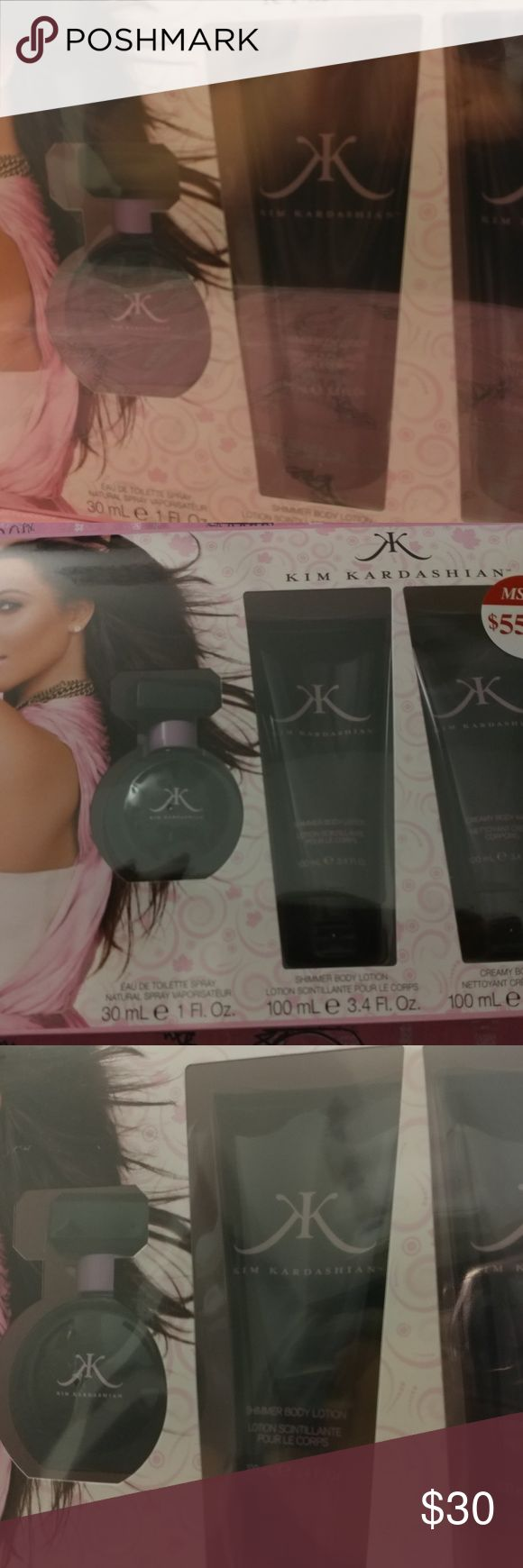 kim kardashian perfume complete set kim kardashian perfume complete set. Perfect gift! Great deal. kim kardashian Other