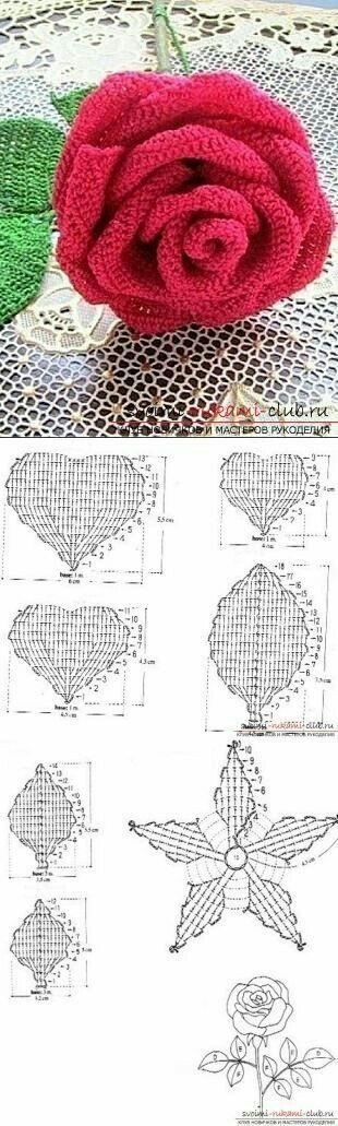 96 best valentines images on Pinterest | Crochet pattern, Crochet ...