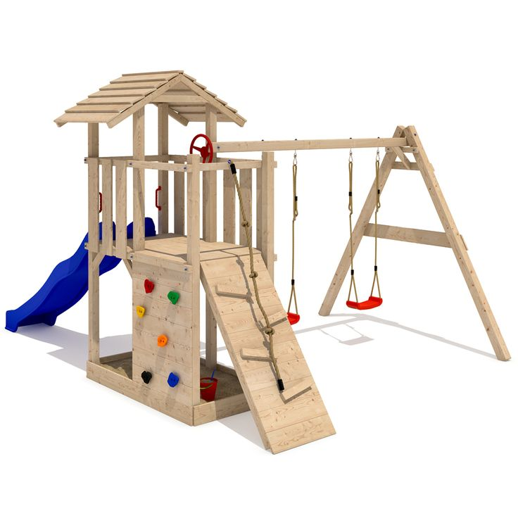 Parque infantil empire ii torre subibaja hechos de madera - Parque infantil de madera ...