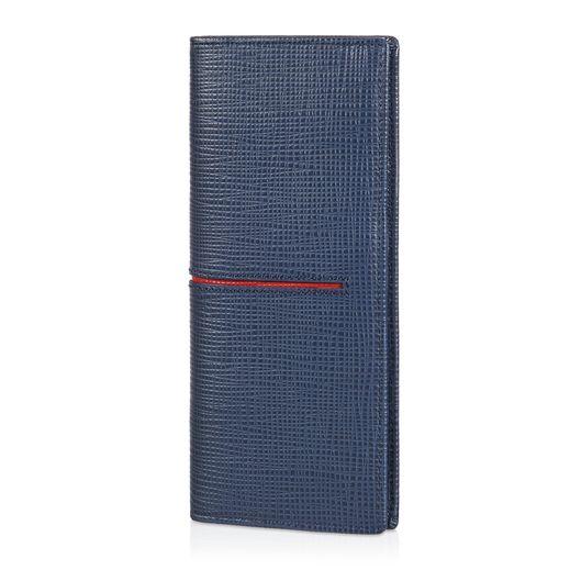 Vertical Wallet in Leather XAMACHB7300NPH059R - 1