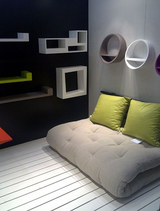 Japanese Small Bedroom Futon Design Ideas