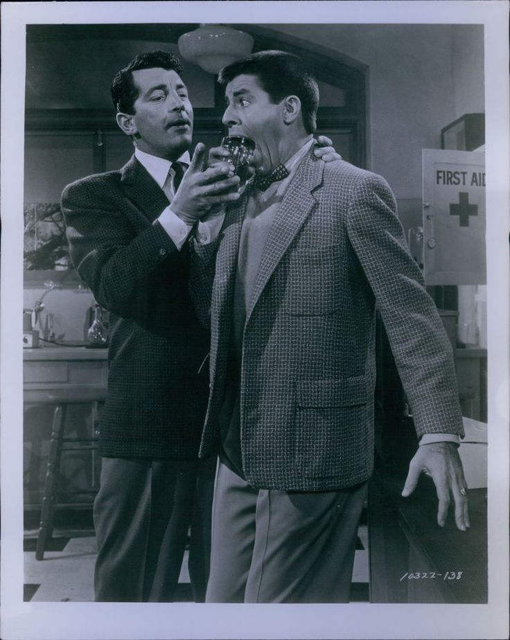 CA740 1950s Original Photo DEAN MARTIN JERRY LEWIS Iconic Hilarious Comedy Duo