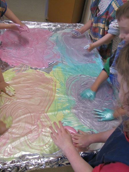 tinfoil painting