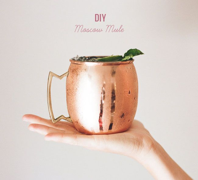 DIY: Moscow Mule | Green Wedding Shoes Wedding Blog | Wedding Trends for Stylish + Creative Brides
