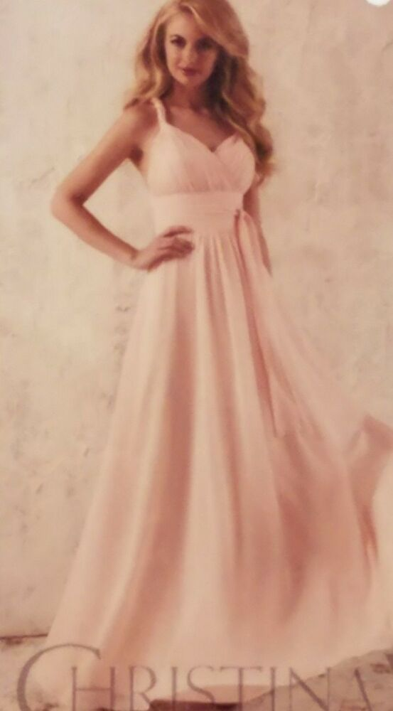 316ee6638bd9 eBay Sponsored) Blush Pink Christina Wu Formal Dress Size 10 ...
