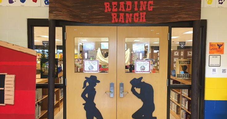 We recently ended our fall book fair.  Scholastic's fall theme is Wild West Book Fair: Saddle Up and Read!  We transformed the outside of th...