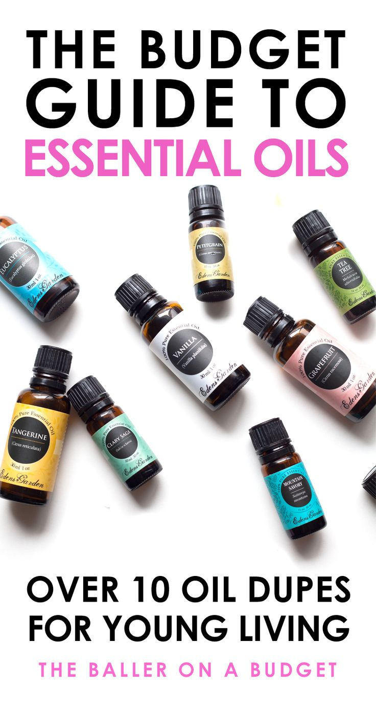 Many Edens Garden Essential Oils range from $5-$10, making them an affordable comparable to Young Living Oils. Read more to find my favorite Edens Garden dupes of Young Living blends! - www.theballeronabudget.com