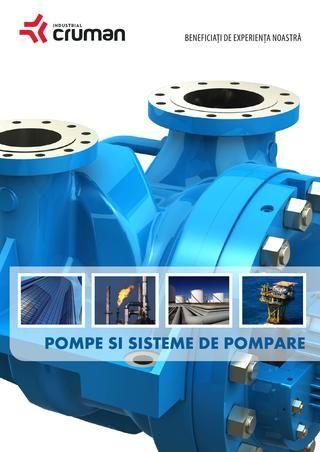 Veti gasi o gama larga de produse, care acopera o intreaga paleta de aplicatii si domenii pentru care Industrial Cruman ofera solutii de pompe si siteme de pompare. Mai multe: www.cruman.ro