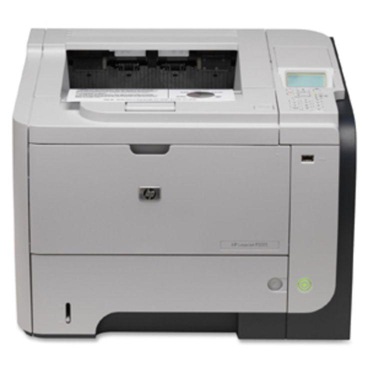 HP LaserJet Enterprise P3015DN Monochrome Printer B/W Laser Printer 42ppm 600-Sheets CE528A#ABA
