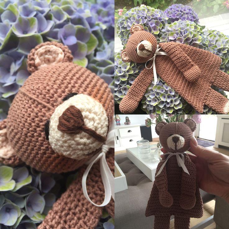 Tuttel (knuffel) beer gemaakt voor collega #zwanger 🐻💕