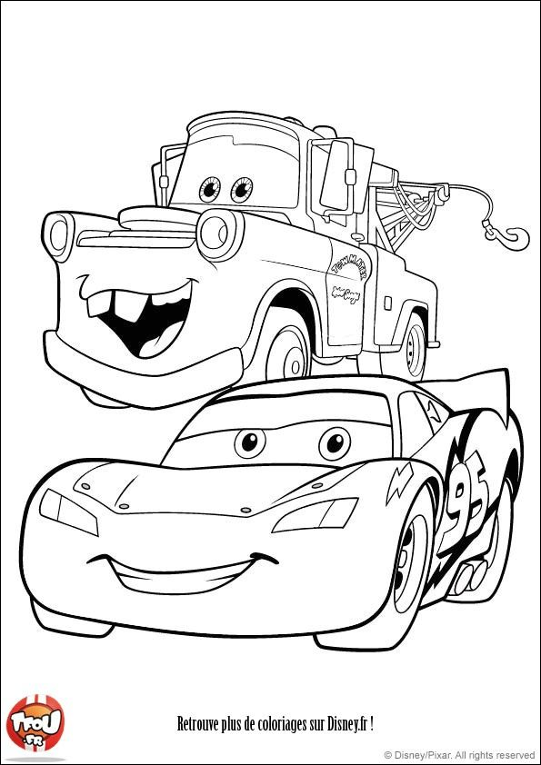Coloriage Cars 3