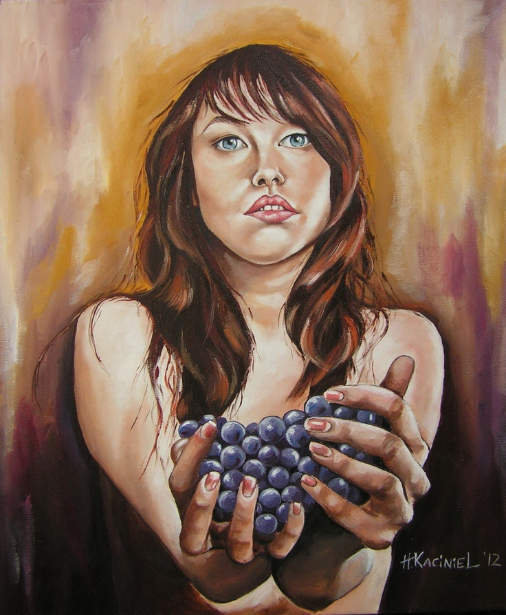 Me....  Oil on canvas