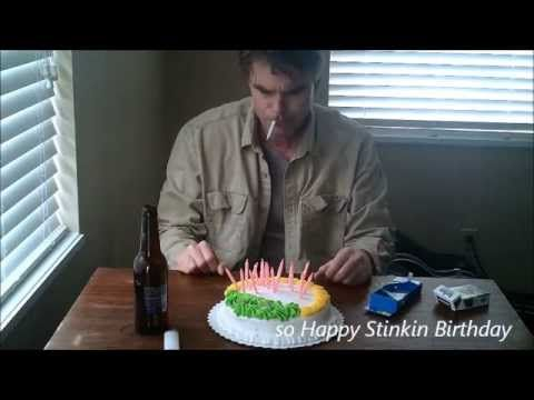 Anti birthday song. -  happy Stinking Birthday. - YouTube