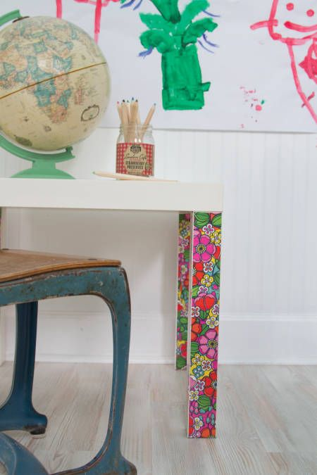 Yes, it's okay to decorate with duct tape — if it has a fun pattern like this one.