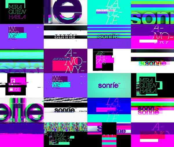Sonríe. Te estamos grabando. on Behance