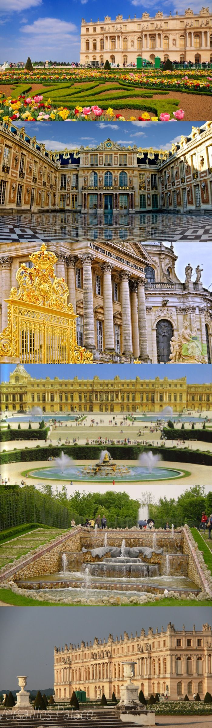 Versailles Palace. The most beautiful palace I've been! But, the best time I had was walking thru it with Nicole!