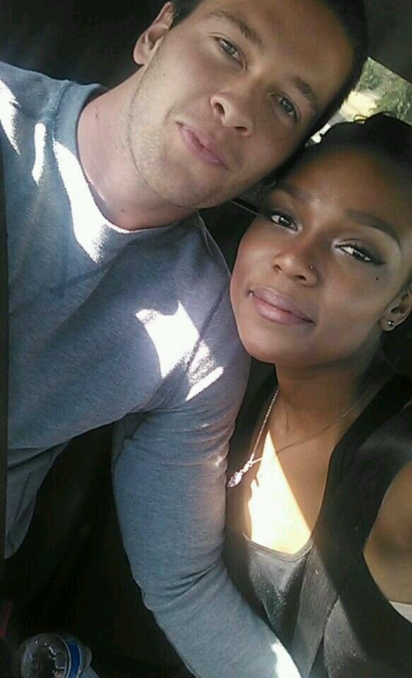 couple interracial love making