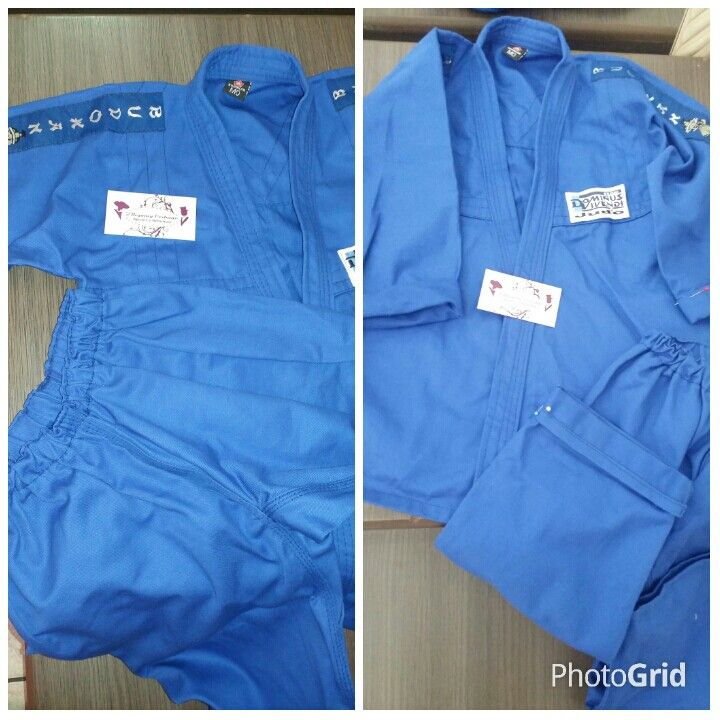 """Iniciamos o dia ajustando o kimono do Mateus, que é  um Judoca de 5 anos de idade, aluno do @dominusvivendi e amiguinho da nossa Juju.   Depois iremos pedir aos pais dele pra nos enviarem uma foto do """" atleta"""" devidamente vestido para os treinos.  #mateusjudoca #judo #kimono #judoparacriancas #ellegancycosturas #colegiodominus #dominusvivendi"""