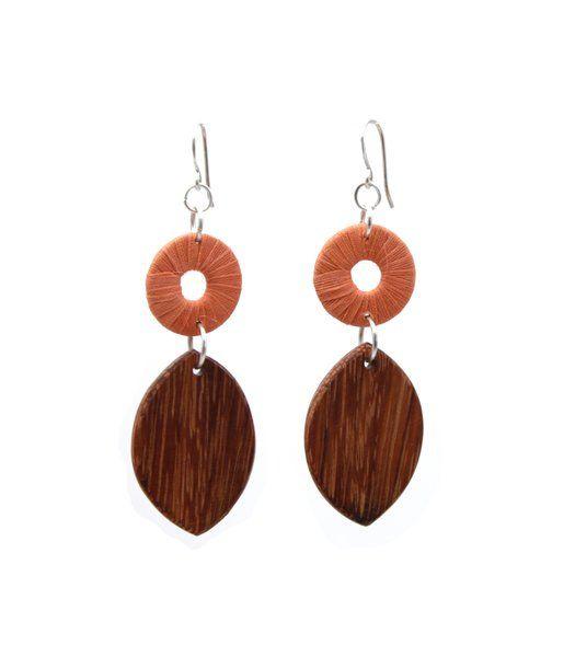 Turning Leaf Orange   Indigo Heart - Fair Trade Fashion A$18.50