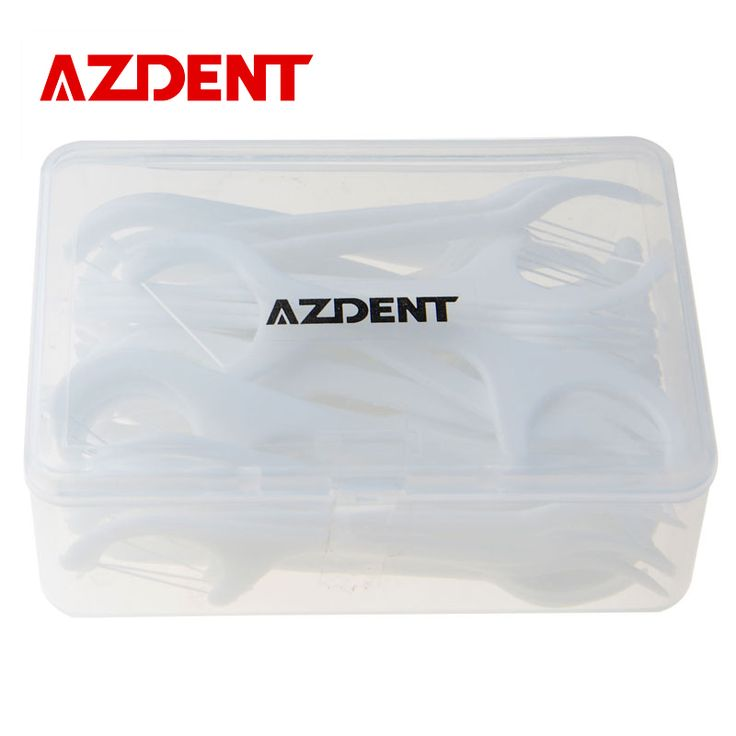 AZDENT Tooth Cleaner 50 PCS Dental Floss Oral Care Teeth Stick Flossers Pick ToothPicks With Floss Dental Flosser Oral Hygiene #clothing,#shoes,#jewelry,#women,#men,#hats,#watches,#belts,#fashion,#style