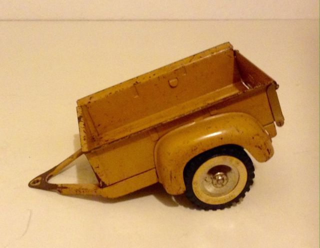 Tonka Toys Ford Pick-Up Truck Utility Box Trailer Original Pressed Steel | eBay
