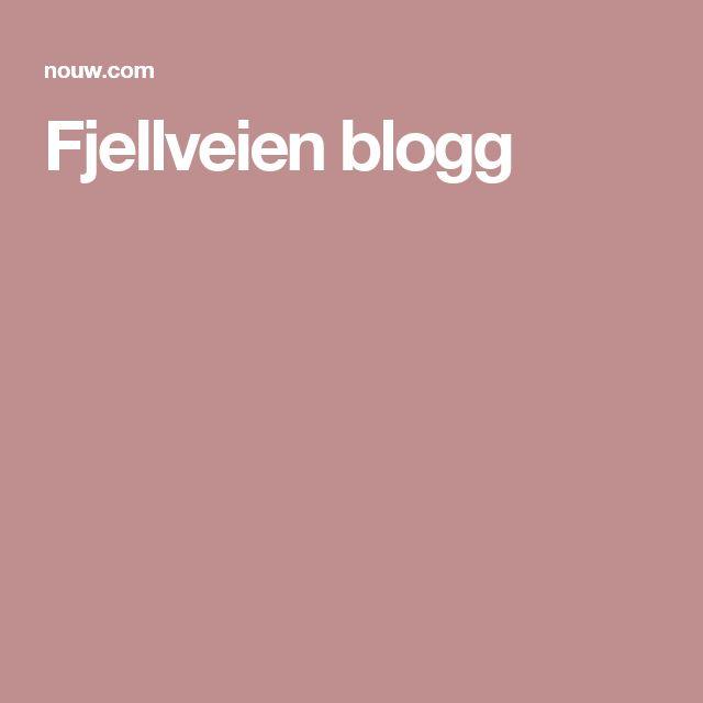 Fjellveien blogg