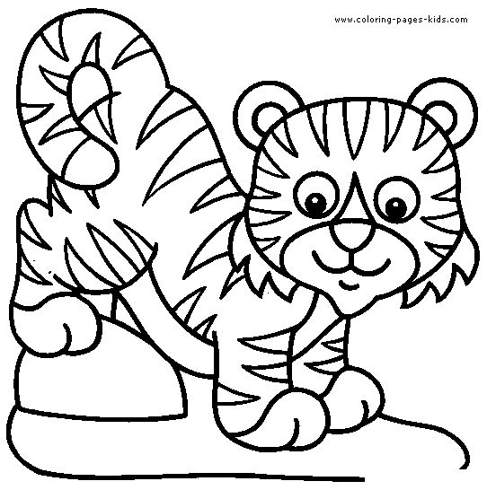lion cup color page animal coloring pages coloring pages for kids thousands of free printable coloring pages for kids - Coloring Pages Tigers Print