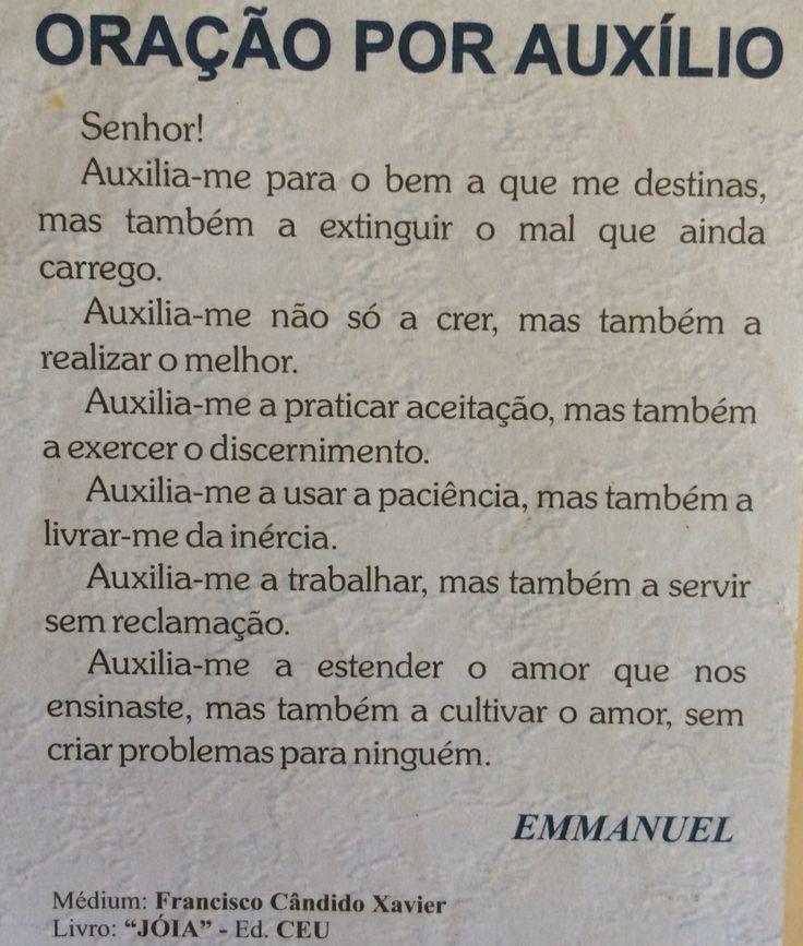 Oração por Auxílio -Emmanuel
