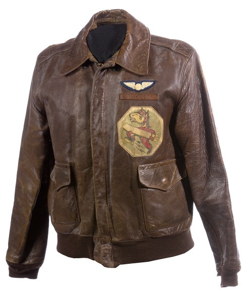 Some current bomber jackets are named after famous World War II pilots. For instance, the Heinz Bär jacket is named after the top Luftwaffe ace ( victories) who flew with JG Hitler inspecting coastal fortifications, 23 December