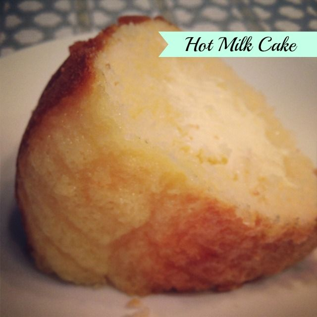 This recipe for Hot Milk Cake is very special to me because my grandma has made it for my sister and I ever since we were young. It's always a nice surprise when we come to visit and she has this s...