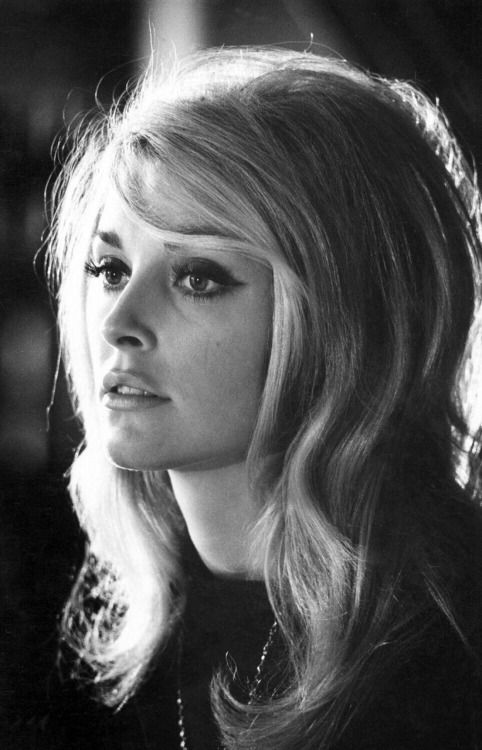 "simply-sharon-tate: ""Sharon Tate, photographed in 1965 on the set of the film Eye of The Devil """