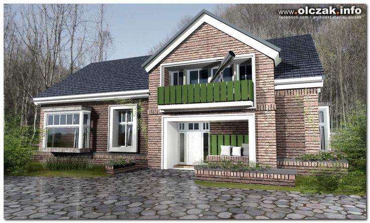 Architekt Maciej Olczak - dom w stylu holenderskim