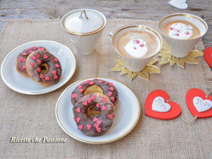 Ciambelle San Valentino - Ricette che Passione