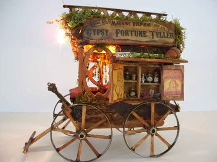 a-faerietale-of-inspiration: gypsy wagon . . .