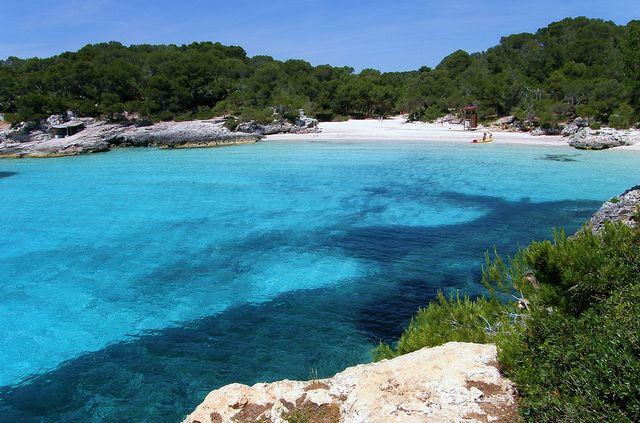 Cala Turqueta (Menorca, Islas Baleares)