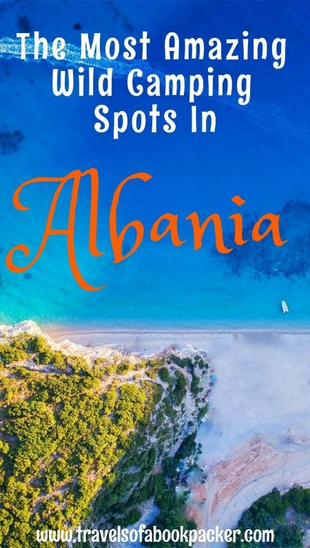 Looking for a beautiful spot to camp in Albania? But don't want to pay for a campground. Read about wild camping in Albania. Here are some perfect spots for camping on the beach! #wildcamping #vanlife #beach #albania #balkans