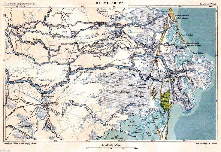 Delta del Po.1876